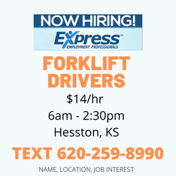 forklift driver wanted