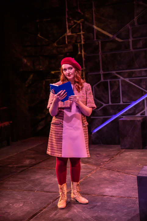 Siobhan in The Curious Incident of the Dog in the Night-Time