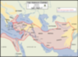 Map of Persian Empire at 490BC