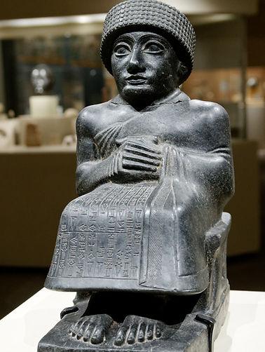Sumer religious statue