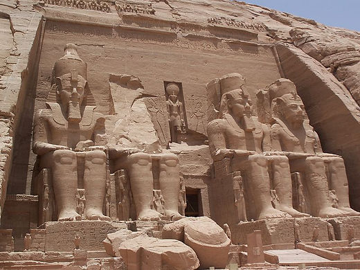 Abu Simbel temple for Ramesses the Great