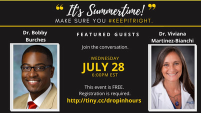 Drop-In Hours Drs. Burches and Martinez-Bianchi!
