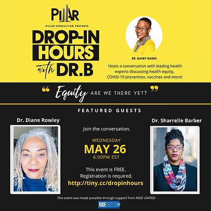 Pillar NAH Drop-In Hours Drs. Rowley and
