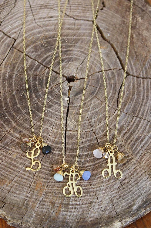 Alice Initial Necklace