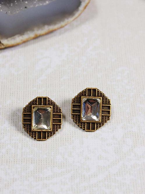Deco Post Earrings