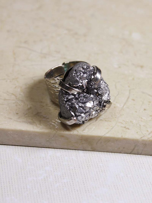 Stardust Ring in Silver