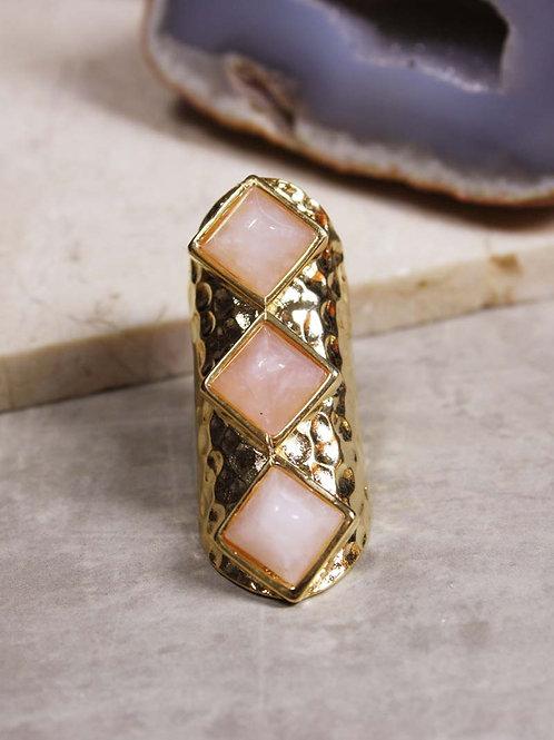 Achira Ring in Gold