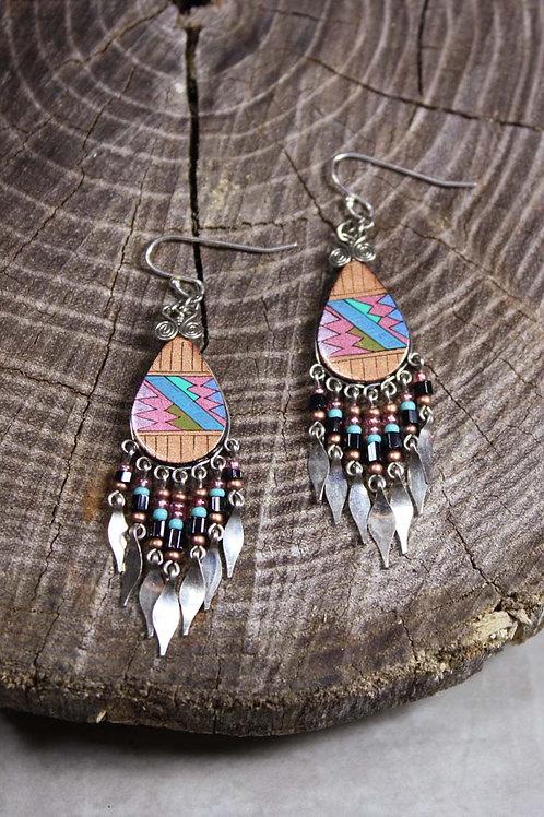 Aztec Earring