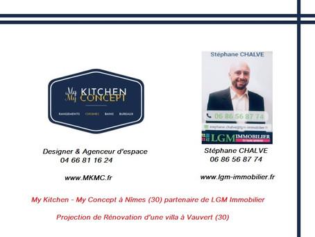My Kitchen My Concept | Cuisiniste a Nîmes |  Partenaire de LGM Immobilier, Rénovation de Villa !