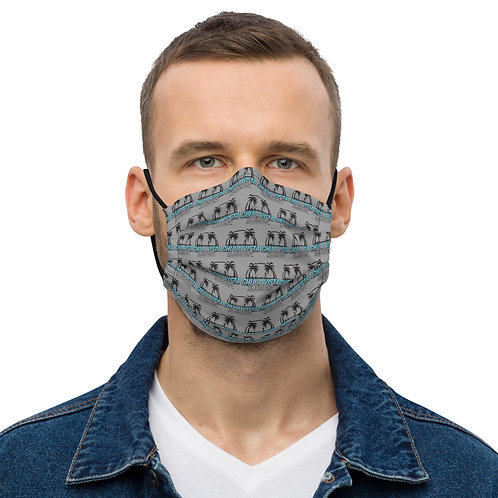 Grey CV Water Sports All-Over Print face mask copy copy