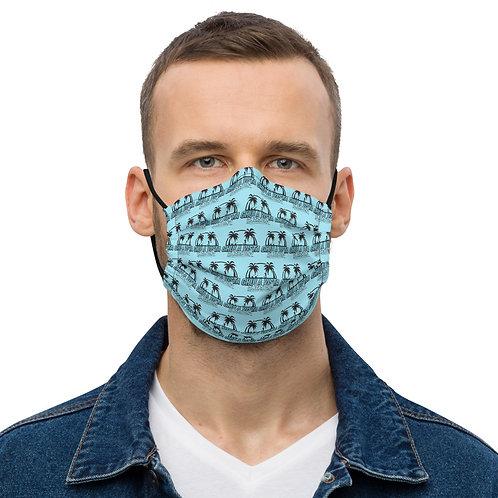 Aqua CV Water Sports All-Over Print face mask copy