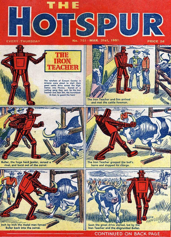 The Hotspur #751, March 31, 1951