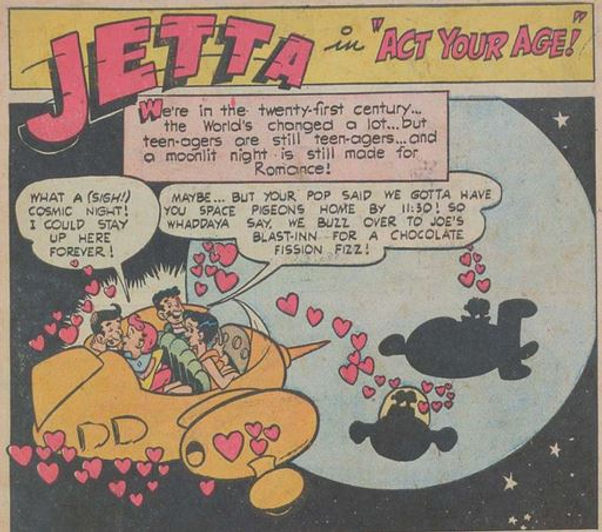 Jetta #7, April 1953 Act Your Age 1 pane