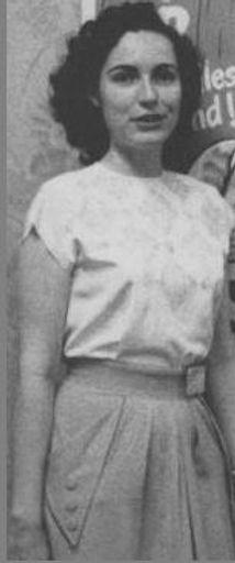 Bea Mahaffay, c. 1950