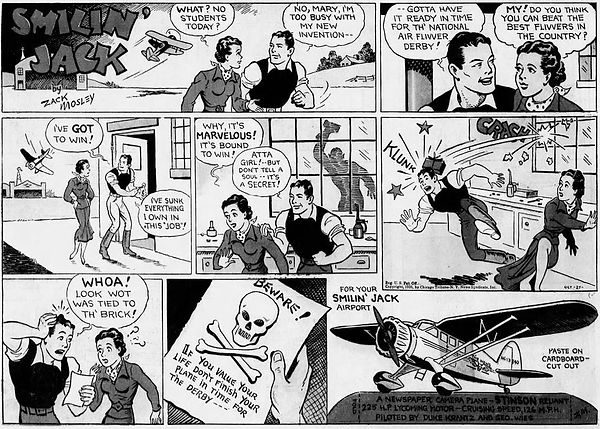 Smilin' Jack October 27, 1935