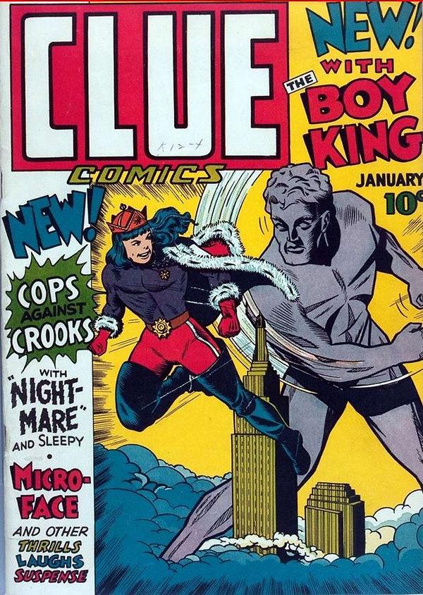 Clue Comics #1, January 1943