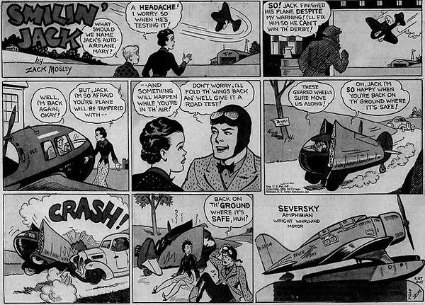 Smilin' Jack, November 10, 1935