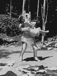 Alpha the Robot and Zorine, Queen of the Nudists, 1935