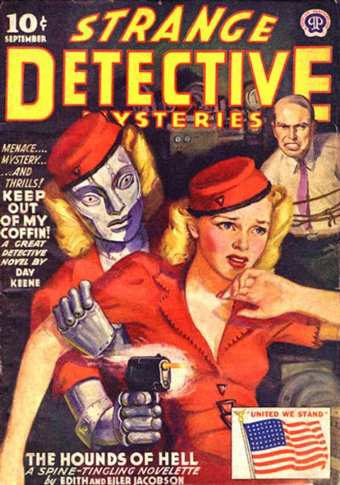 Strange Detective Mysteries, Sept. 1942