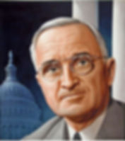 Time cover of Harry Truman, art by Boris