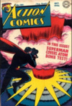 Action Comics #101 (October 1946) cover.