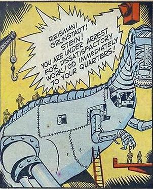 Clue Comics #4, June 1943