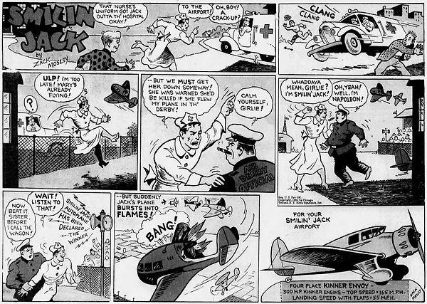 Smilin' Jack, December 8, 1935