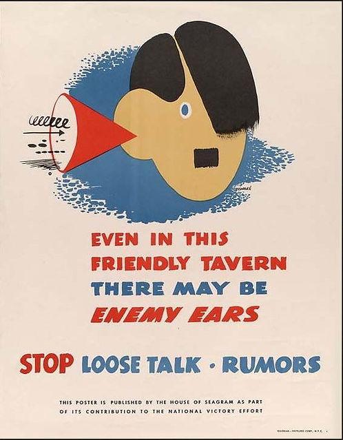 Seagram's loose talk poster.JPG