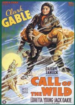 The Call of the Wild, movie poster, 1935
