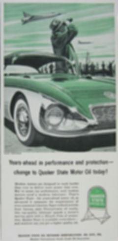 1956 Quaker State Motor Oil Buick Centurion