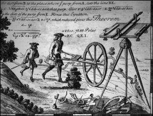 Surveyor's wheel, 18th century