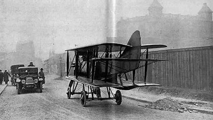 Rene Tampier avion-automobile, at Montmartre