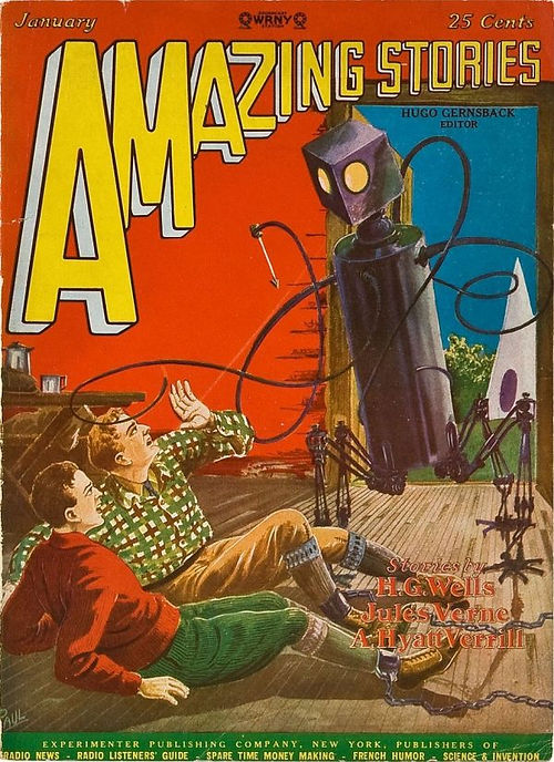 Amazing_Stories_January_1928, cover by F