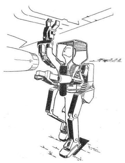Hardiman lifting bomb onto plane