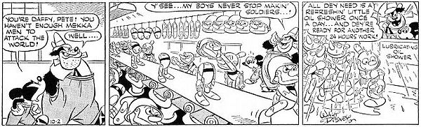 Mickey Mouse World of Tomorrow strip 10-2-44
