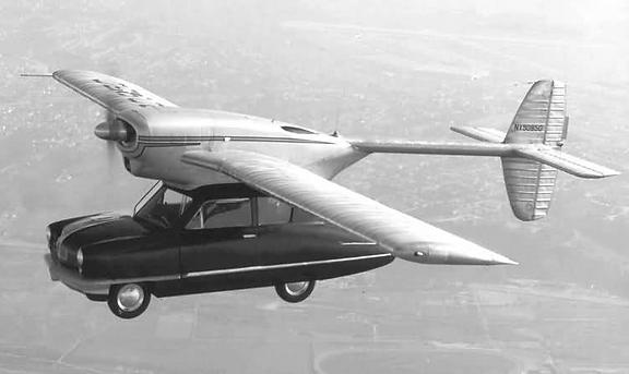 ConvAirCar, Model 118, 1947
