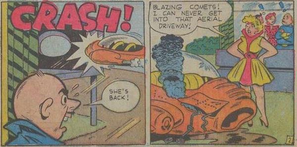 Jetta #5, Dec. 1952 Jet Jaunt 2 panels 6-7