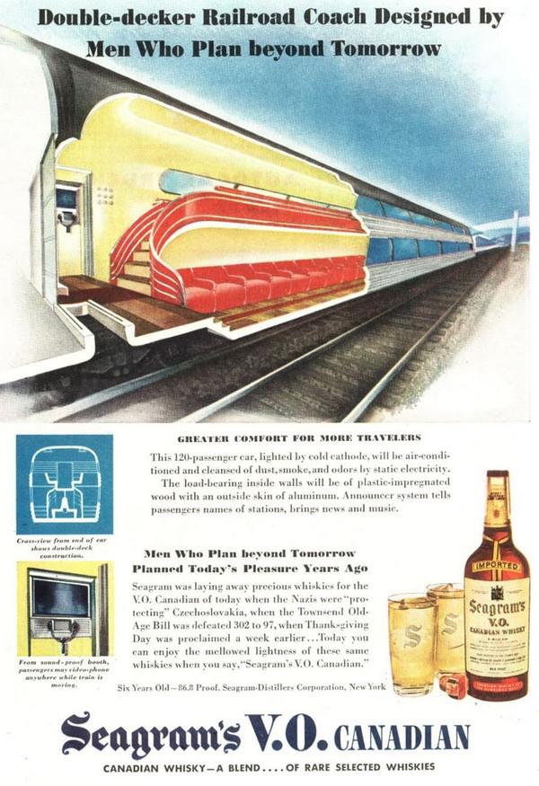 1945-02-12 Double-Decker Railroad Coach
