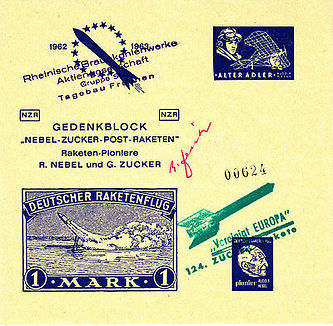 1963 German commemorate cover