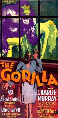 The Gorilla (1927) variant poster 2