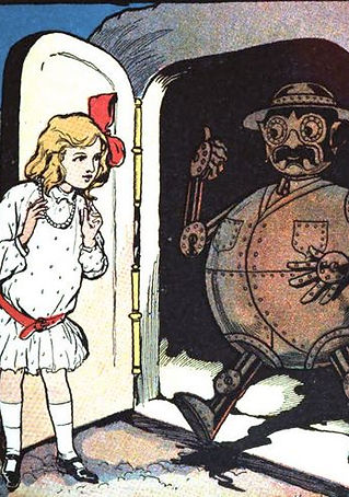 Tik-Tok from Ozma of Oz