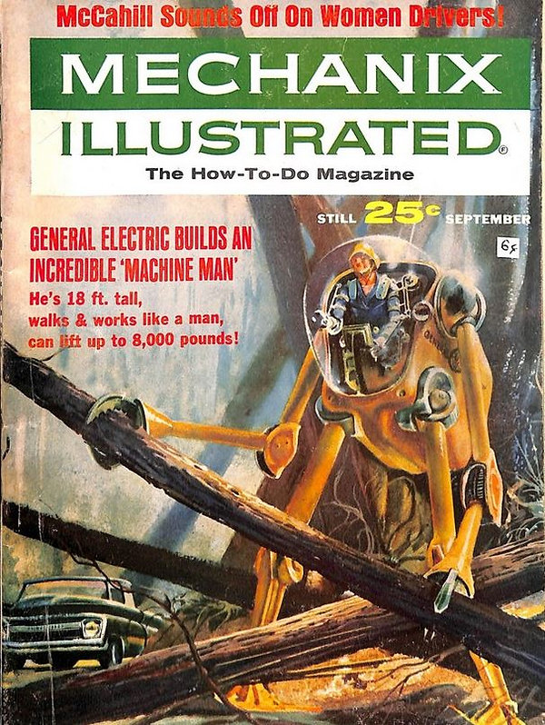 1964-09 Mechanix Illustrated cover