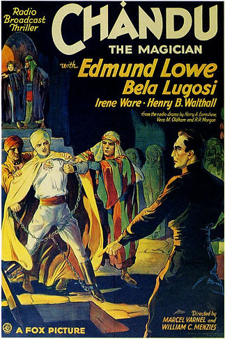 Chandu the Magician, poster, 1932