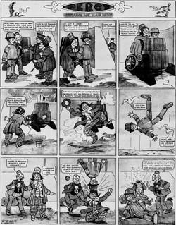 19120512 [Washington, DC] Evening Star, May 12, 1912 Percy mechanical man