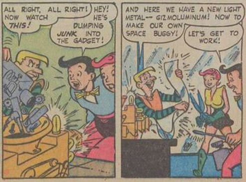 Jetta #7, April 1953 Atom and Evil 4 panels 4-5