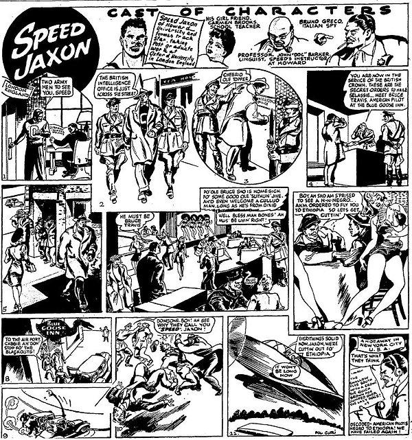 1942-11-28 Chicago Defender, Speed Jaxon