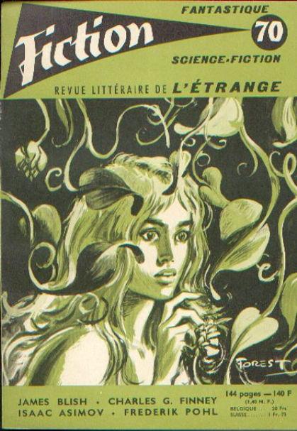 Fiction 70, September 1959, cover art by