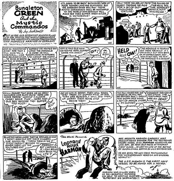 Bungleton Green, August 7, 1943