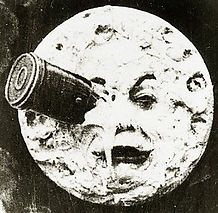 A Trip to the Moon, by George Méliès, 1902, still