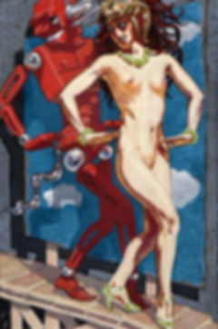 Mahlon Blaine, Nude Dancing With Robot